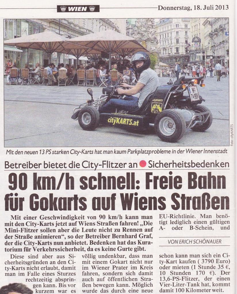 cityKARTS-Artikel-in-der-Kronen-Zeitung-vom-18.Juli-2013