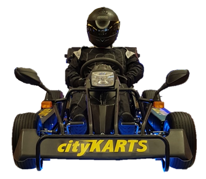 cityKARTS Black Edition mit Dummy